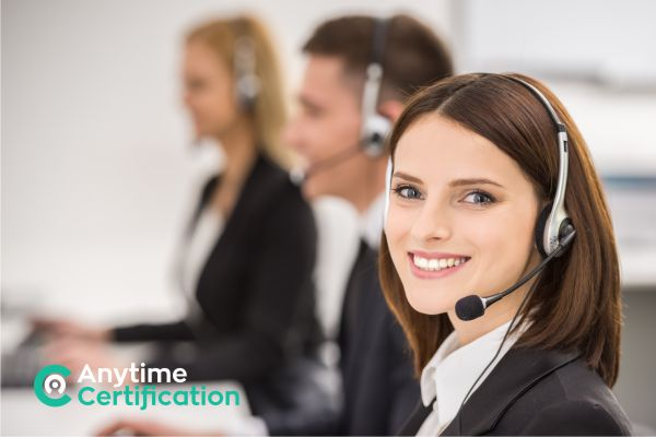 Anytime Certification Customer Support